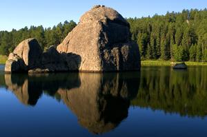 Sylvan Lake in The Black Hills