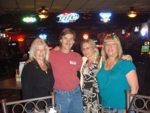 Candy, Me, Lisa and Brenda