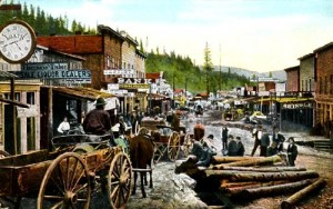 Old Deadwood postcard